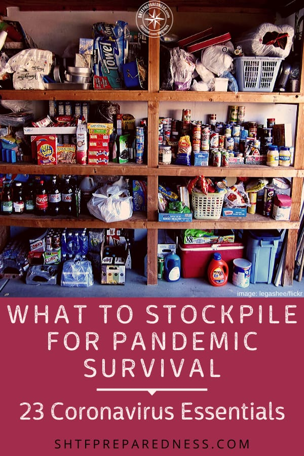 From food and water to batteries and vitamins the list of what to stockpile for a pandemic can be overwhelming. But it doesn't have to be. #stockpile #coronavirus #pandemic