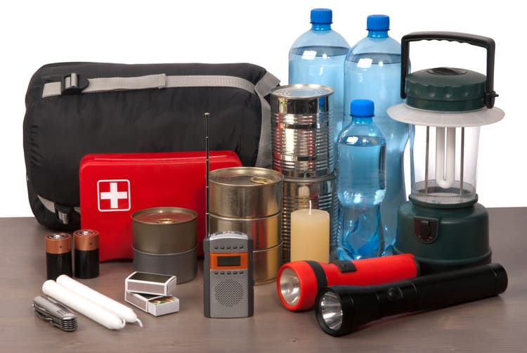 non-food supplies to stockpile for a pandemic: first aid kit, lantern, radio, batteries, candles, flashlights