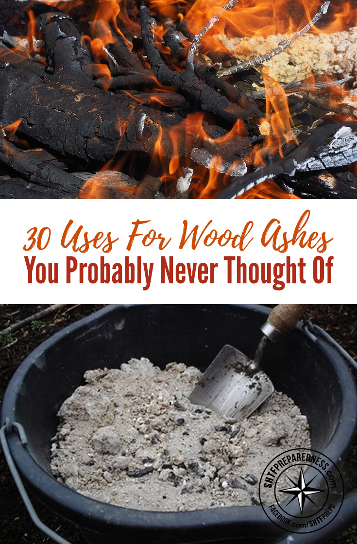 30 uses for wood ashes you probably never thought of