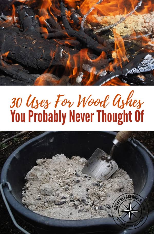 There are so many uses for wood ash that you have probably never ever heard of like pest control, toothpaste, first aid, and 27 other great uses!