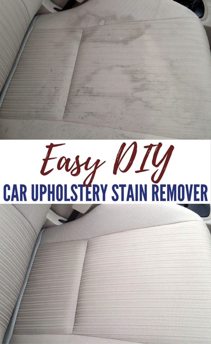 Diy Car Interior Design: Easy DIY Car Upholstery Stain Remover That Works