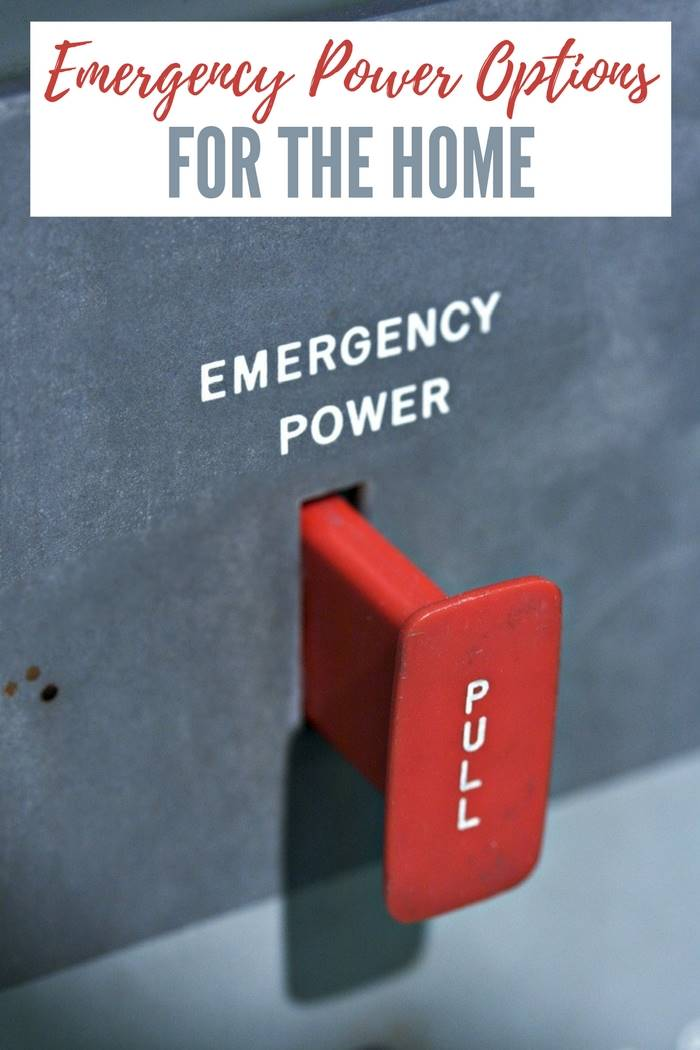 Emergency Power Options for Your Home - As winter months are approaching, a lot of us are preparing for the cold weather - especially homesteaders. The more isolated we are, the longer it takes for utility crews to reestablish power, or clear roads of snow and ice. An emergency backup power system is the sensible solution to this problem.