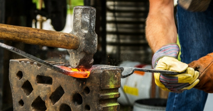 How to Make a Forge and Start Hammering Metal — If SHTF and the world went to pot, having skills will definitely help you out in the world of barter and survival.