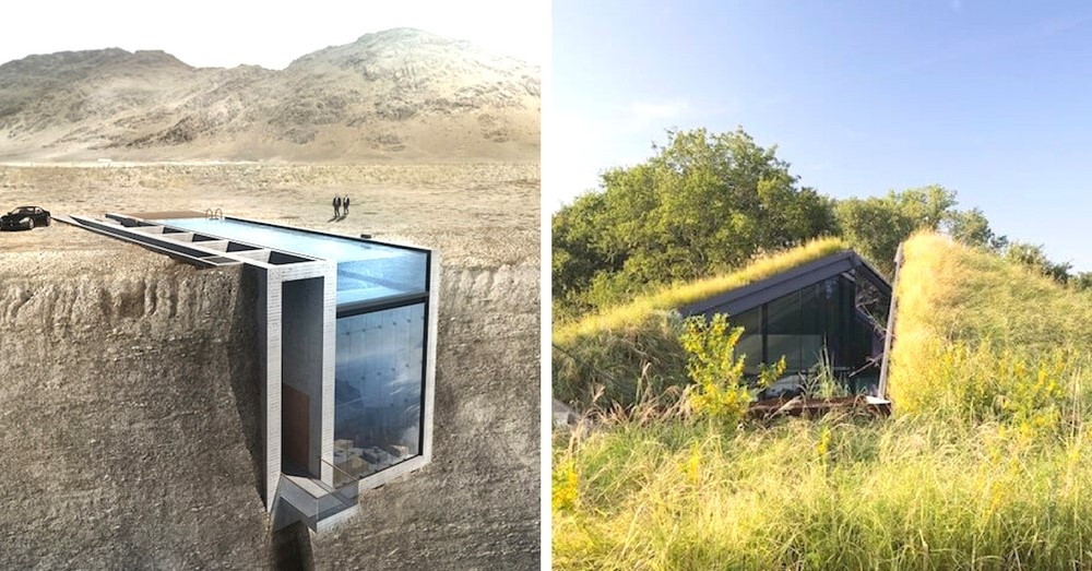 These homes go beyond traditional structure-focused architecture and instead, creates homes that exist in harmony with the landscape. In a way, these architects are going back to our roots-borrowing techniques from ancient Native Americans and others who mastered sustainable living in the land.