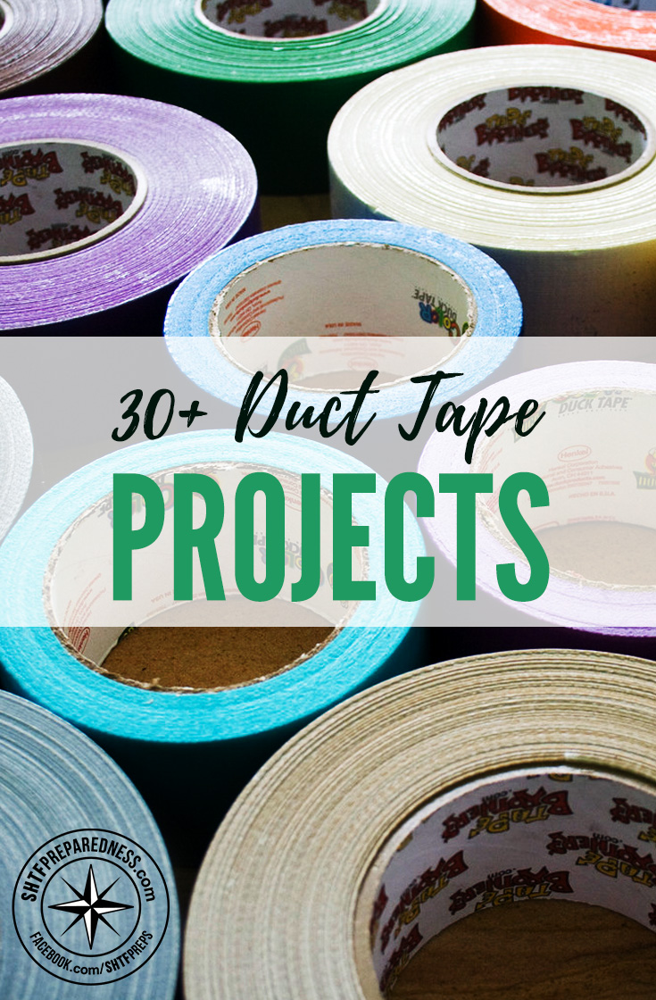 Duct tape crafts kits - 30 Duct Tape Projects Duct Tape Is The First Aid Kit Of The Gear