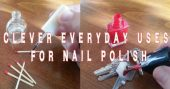 Clever everyday uses for nail polish — I've been using my wife's nail polish lately and I'm happy with the results. No, I'm not painting my own nails. Instead, I've found many household uses for this cosmetic staple.