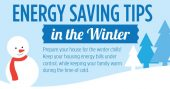 Energy Saving Tips for the Winter - As the winter months approach, cold-proofing the home is pretty routine for those of you who live in cold climates. My favorite thing about this list is that it addresses points of heat loss that might not be obvious, like electric outlets and switch plate covers. There are several great tips like this, as well as some common-sense heat saving strategies that we need to be reminded of.