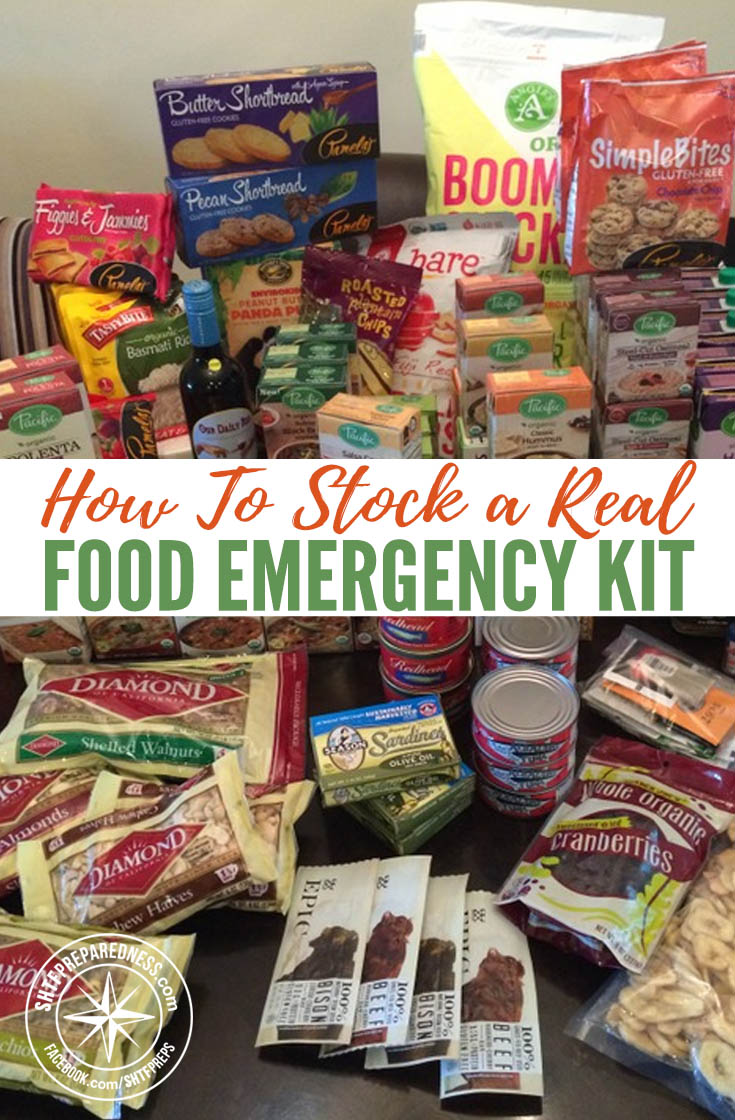 How To Stock a Real Food Emergency Kit — It's scary to think about a survival situation, but it's much worse to be ill-prepared for one. An emergency supply kit is important to keep on hand, whether you live in a neighborhood or you're isolated.