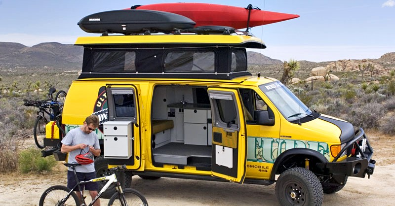 Is This the Ultimate Bug Out Vehicle? — In a SHTF situation, you might want to be as isolated as possible. A getaway vehicle that doubles as living space would be ideal in this situation.