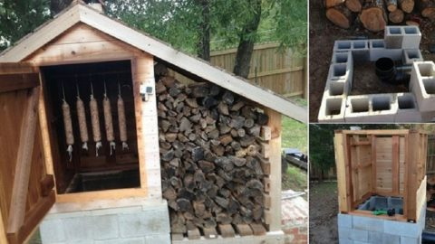 Learn How To Build A Smokehouse With This Awesome Tutorial