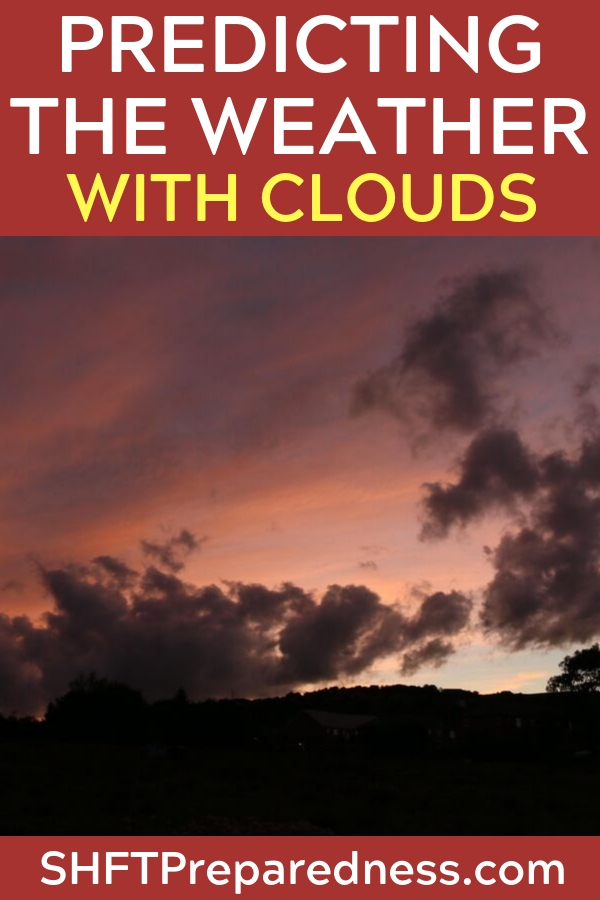 Predicting the Weather with Clouds — Being able to predict the weather by observing cloud formations is a skill that is somewhat lost on us modern humans. Most of us can easily look at a cloud and see the unicorn or ice cream cones, but very few of us can look at clouds and see the approaching cold front.