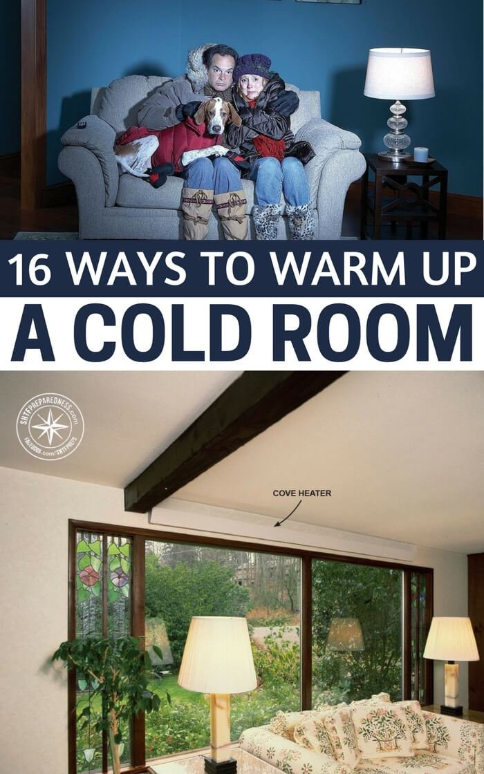 16 ways to warm up a cold room
