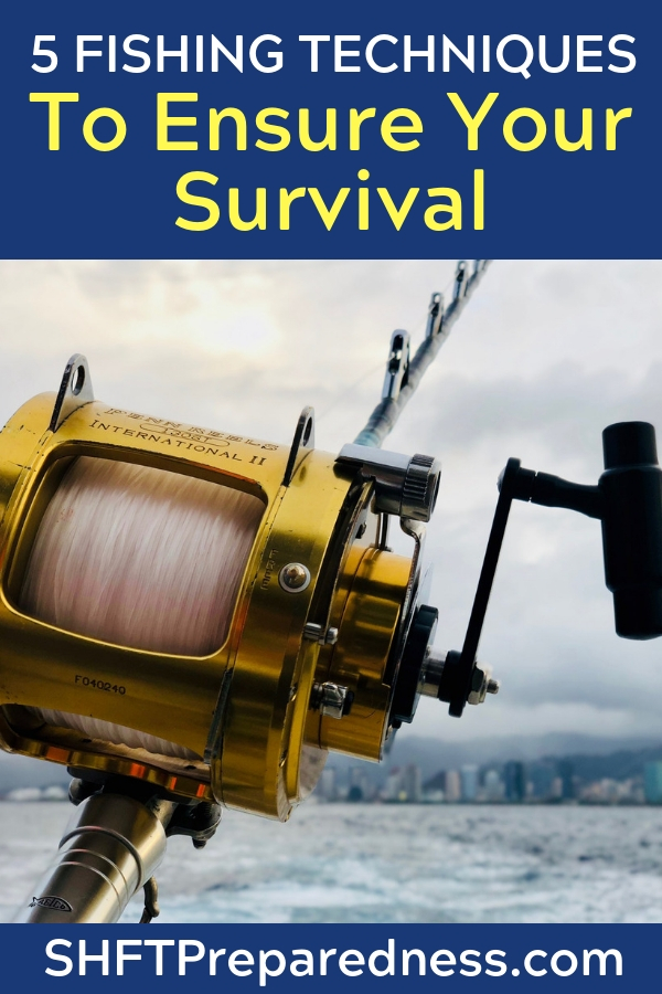 5 Fishing Techniques to Ensure Your Survival — Fish are a nearly perfect source of nutrition and in a long-term (or even a short-term) survival situation, they are not that difficult to obtain