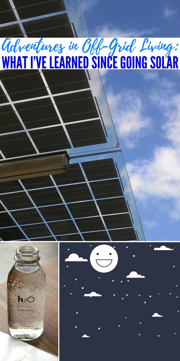 Adventures in Off-Grid Living: What I've Learned Since Going Solar — A lot of us talk about going solar nowadays. Whatever the motive, either eco-consciousness or to be more self-sufficient for a SHTF situation, going with renewable energy is a great idea. As with most big changes, there's a lot that goes into the transition from grid to solar energy