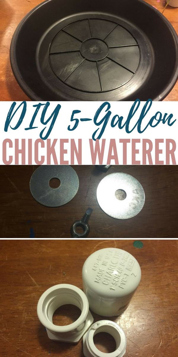 DIY 5-Gallon Chicken Waterer —For anyone who is homesteading or is just interested in having a chicken coop of their own, a convenient water supply can eliminate a lot of work. There is plenty to be done on a homestead, and one less thing to worry about can make a big difference.