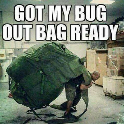 Got My Bug Out Bag Ready