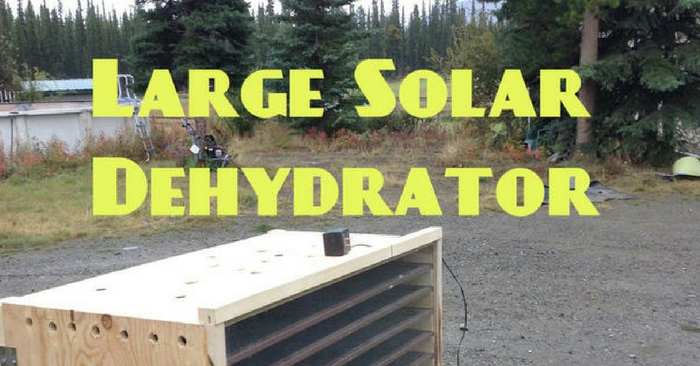How To Build a Solar Heated Large Scale Dehydrator — If you're living off the grid or homesteading, you probably already know how challenging it can be to come up with food stores. Preserving food is always an option, but can be time consuming and labor intensive, especially if you're off the grid. Luckily, Instructables has a tutorial on how to construct a solar powered dehydrator to solve this very problem.