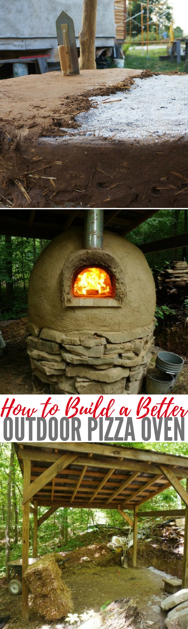 How to Build a Better Outdoor Pizza Oven