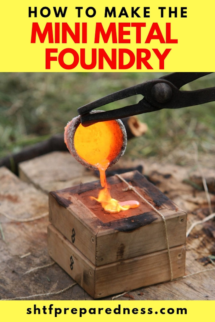 There are lots of things in this life that simple. We should all strive towards a more simple life. It makes everything better. You might look at this foundry and wonder, why on earth, but it is a multifunction DIY project.