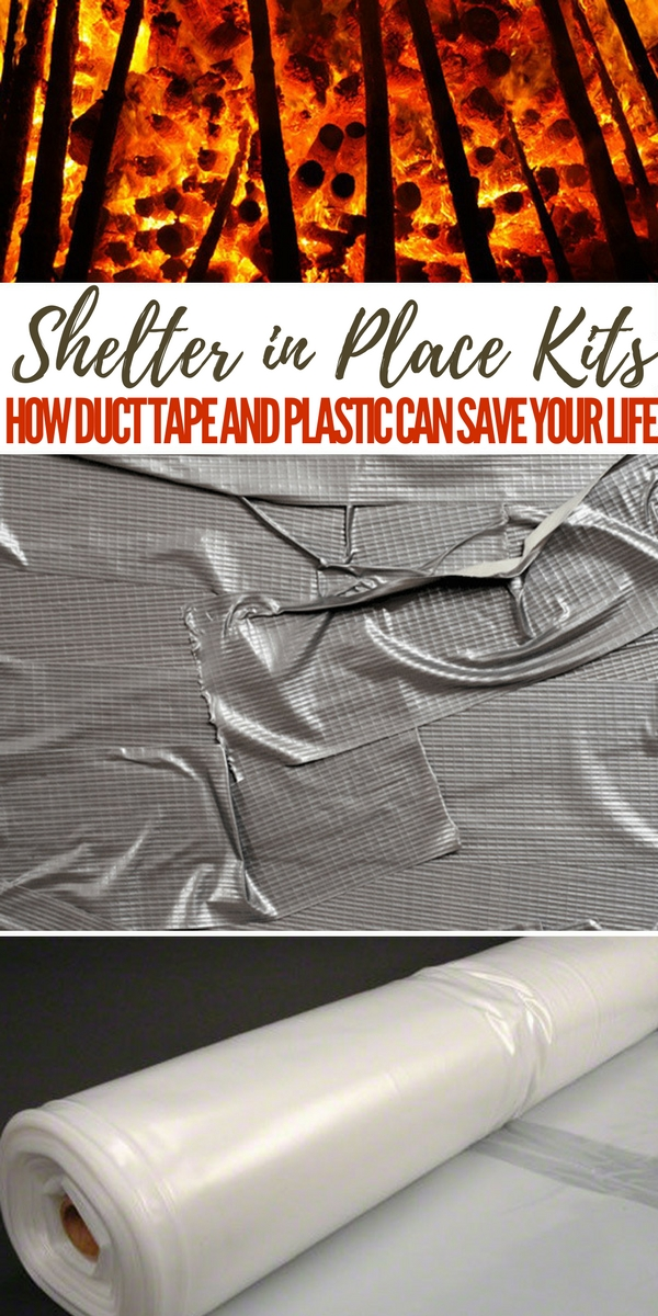 Shelter in Place Kits – How Duct Tape and Plastic can Save Your Life - emergency