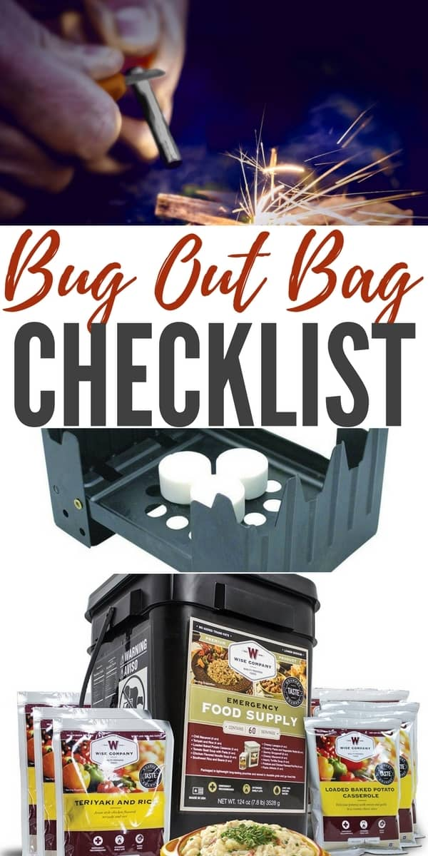 Bug Out Bag Checklist — A Bug Out Bag is usually designed to get you out of an emergency situation and allow you to survive self-contained for up to 3 days. Build one today!