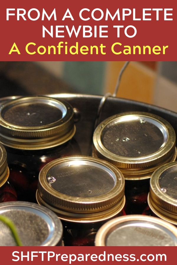 From a Complete Newbie to a Confident Canner — I have many friends who ask me about canning and there is usually some mention of being nervous about pressure canning. When I first started out, I was exactly the same way!