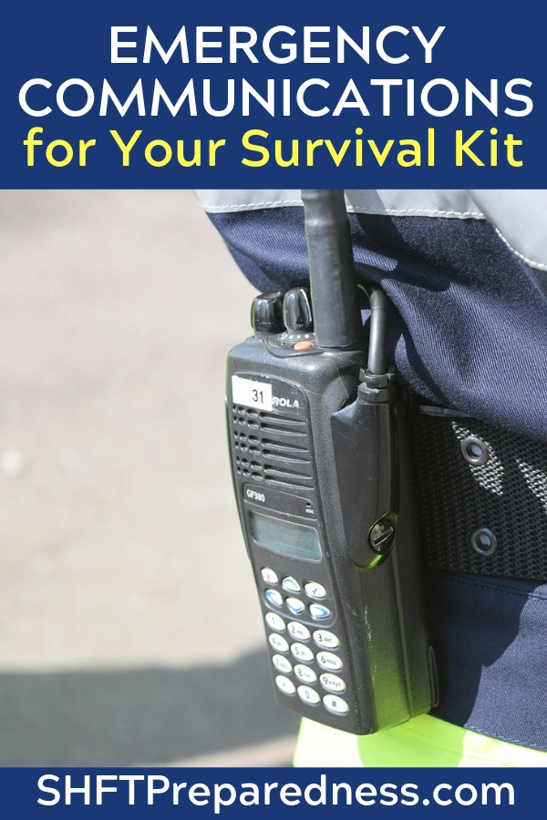 How effective can we really be in a survival situation, regarding emergency communications? The problem with survival communications is that you cannot buy your way out of that problem.