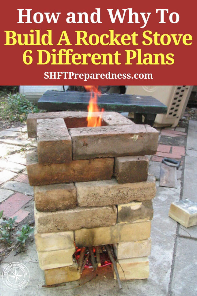 How To Build A Rocket Stove. 6 Different Plans — See how you can build the most economical cooking vessel available to date! 6 different ways!