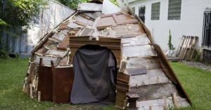 How to Build a Warm Shelter Out of Everyday Materials From Any House — If SHTF and you have no where to go, or you are bugging out and you lose your shelter, this article is a good read and tells you how to build shelter with common house hold materials, I'm even betting that you could even find some of the materials just laying around the city too.