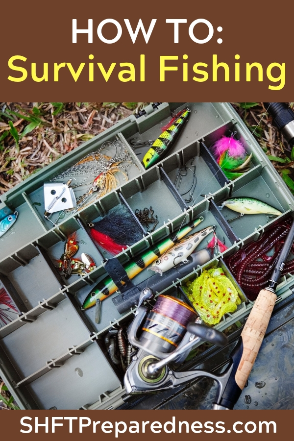 How To: Survival Fishing — You can make your own fishhooks, nets and traps and use several methods to obtain fish in a survival situation. Did you know you can make field-expedient fishhooks from pins, needles, wire, small nails, or any piece of metal.