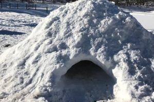 Winter Survival: How to Build a Proper Snow Cave — Need to build an emergency shelter in the snow? Do you intend to camp out in the snow on a ski trek? Snow caves are easy and very effective if built correctly.