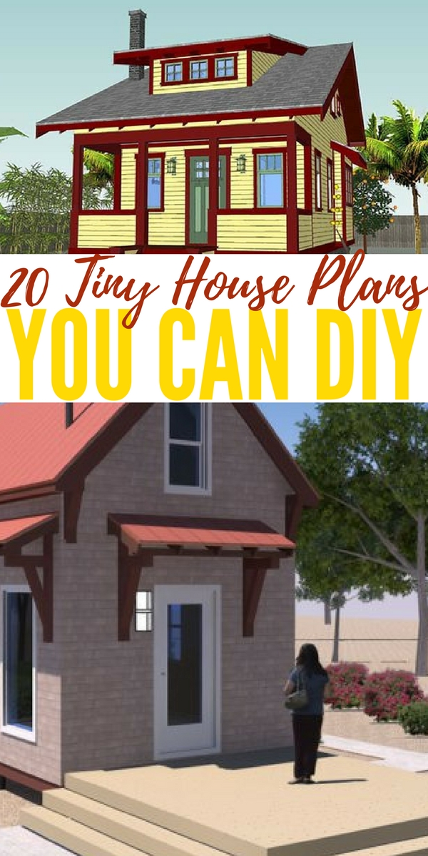 build your own home floor plans 20 tiny house plans you can diy 2162