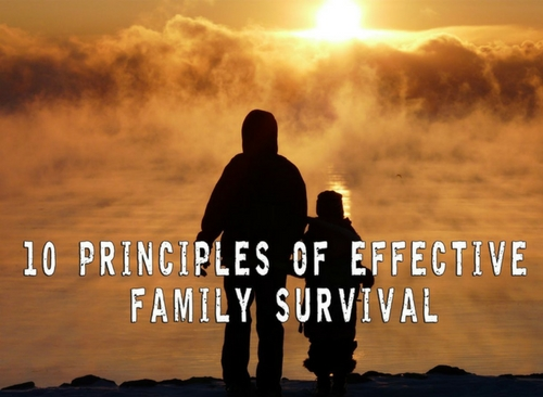 The 10 Principles of Effective Family Survival — There's nothing more important than family in this world. No matter the differences and the hard times you faced, the survival of your family remains your main priority. If your loved ones depend on you to make it during a crisis scenario, you must bring them together.