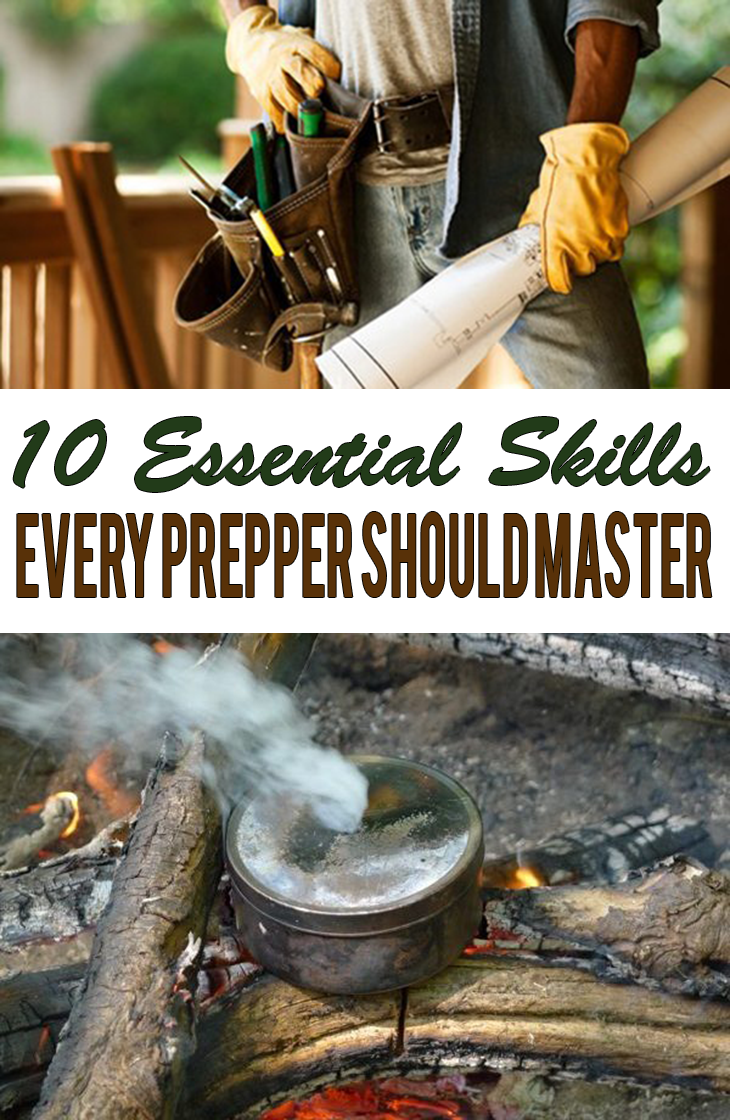 10 Essential Skills Every Prepper Should Master — Many people concentrate on stockpiling necessary supplies, without taking the corresponding time to stockpile the essential skills to go with them. Without the skills, those supplies may not do you any good.