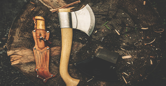 Survival Tools for Chopping Wood - DIY
