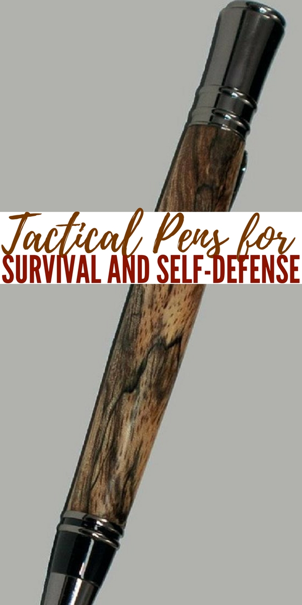 Tactical Pens for Survival and Self-Defense -- Although many people rely on guns for self defense even when they're away from home, others cannot for a number of reasons. It could be that firearms are illegal where they live, or that they're afraid of owning them, maybe even against it.