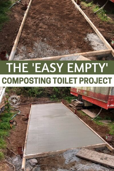 The 'Easy Empty' Composting Toilet Project — If you're living off the grid or are looking into building your own homestead, sewage management is a big issue. Some people have septic tanks and these work fine, but need maintenance from time to time and you still lose a lot of valuable water.