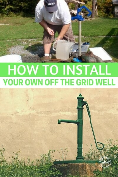 How to Install Your Own Off Grid Well - Water is the most essential thing we need for life. With out water we will die within 3 days. Knowing how to install a water well is vital if not the most essential knowledge we could ever have stored in our brain.
