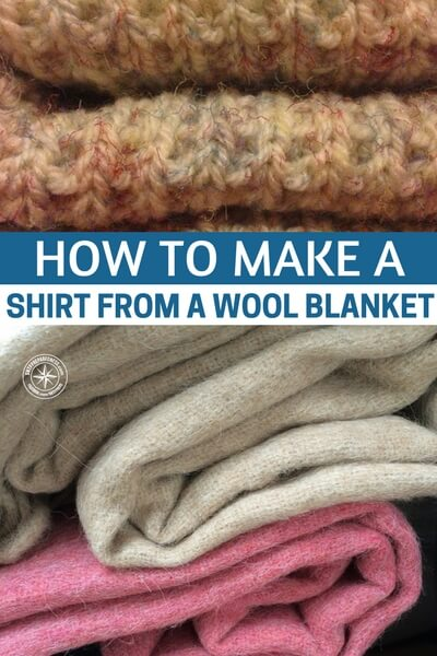 how to make a small blanket out of a shirt