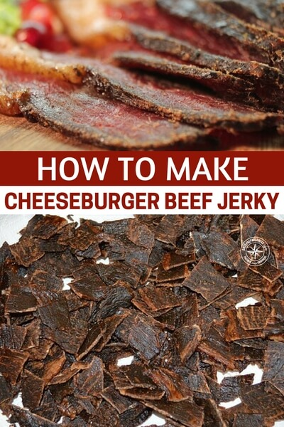 How To Make Cheeseburger Beef Jerky — You read the title right! How to make cheeseburger beef jerky. I thought I saw just about every jerky there was... that's why I love doing this, I learn something new everyday.