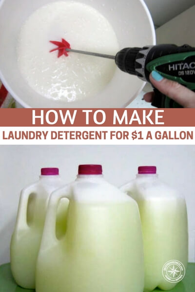 How To Make Laundry Detergent For $1 A Gallon - I made this particular recipe and I have to say my clothes came out soft and smelling absolutely fantastic. I have a brand new LG washing machine and it says only use HE compliant washing detergent and I am happy to say this recipe is working just fine in there. No blocked pipes or attack by bubbles.