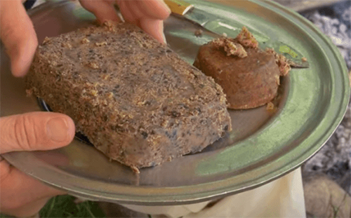 A Return To The Old Paths: How To Make Pemmican Like The Native Americans — Pemmican is a concentrated nutritionally complete food invented by the North American Plains Indians. It was originally made during the summer months from dried lean buffalo meat and rendered fat as a way to preserve and store the meat for use when traveling and as a primary food source during the lean winter months.
