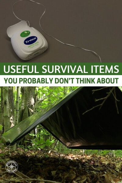 Useful Survival Items You Probably Don't Think About — Do you think you have all the kit you may need for an emergency? Read this and then have a good think what you could add to your kit.