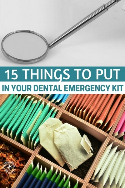 15 Things To Put In Your Dental Emergency Kit - Have you ever had a really bad toothache? I'm not talking about the kind you can dull with a few pain pills. I'm talking about the kind that keeps you up all night in excruciating pain no matter what you take. That's what happened to me a few years back.