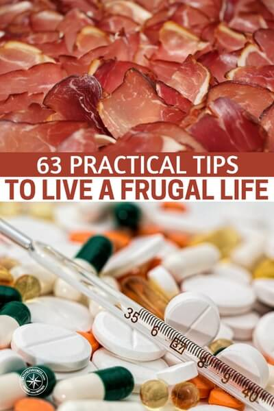 63 Practical Tips to Live a Frugal Life — Did you know that no matter how much money they make, more than 70% people in the US have less than $1000 in savings? Crazy, right? What's more interesting is that this doesn't have anything to do with income.