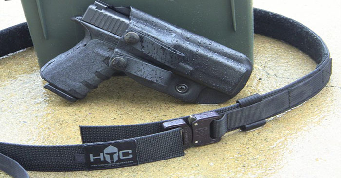 An Every Day Carry Rock Star - Its a strange thing that most people probably don't really thing of. That said, this article takes a personal look at concealed carry and what we should expect out of our equipment. We don't often take the time to consider the comfort of concealed carry because we merely see it as a duty. That is the importance of the HTC tactical belt and this authors story about a belt that has kept him happy.