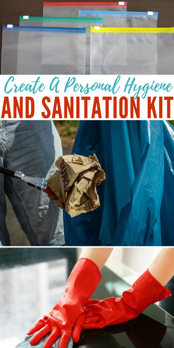 Create a Personal Hygiene and Santiation Kit - tip