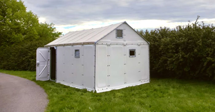 IKEA Off-Grid Tiny House for $1100 - lThings are getting so cool now. This house is real and its solar powered for up to 4 hours a day. It comes with the solar panels. This is an absolute amazing find. The article takes a detailed look at this option. This is about the best option available for that bugout location or a homestead location in the meantime. The article says it can be set up in three hours. It will not be great during winter and it is certainly not a long term solution. Still, its such a cool idea by IKEA.