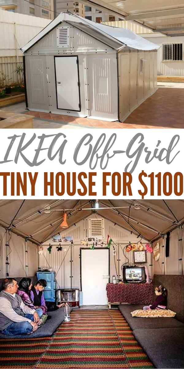Ikea Off Grid Tiny House For 1100