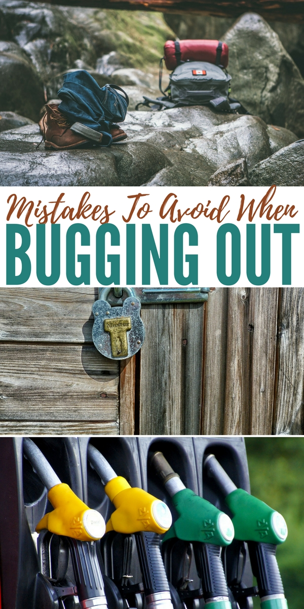 Mistakes To Avoid When Bugging Out Bugging out successfully is a matter of careful planning, preparation and a bit of luck. In the event of a natural or manmade disaster, your only hope to survive would be to bug out.